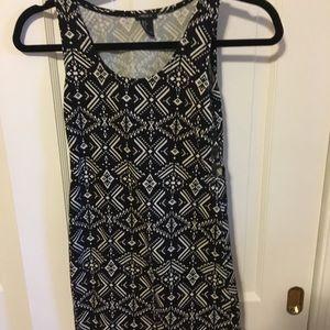 Forever21 tribal bodycon dress